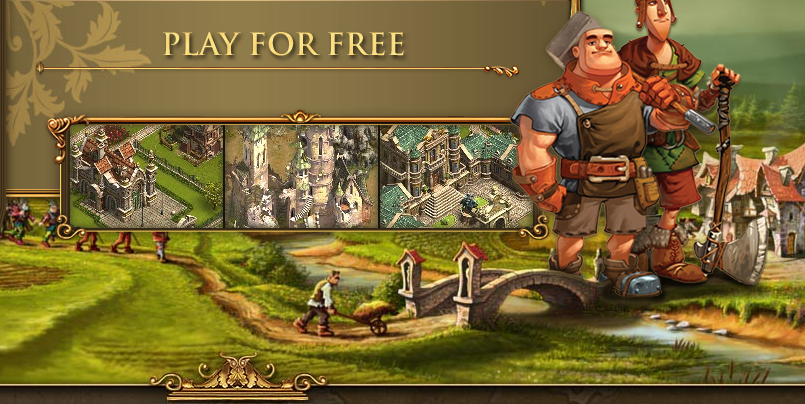 free web browser game   The Settlers Online